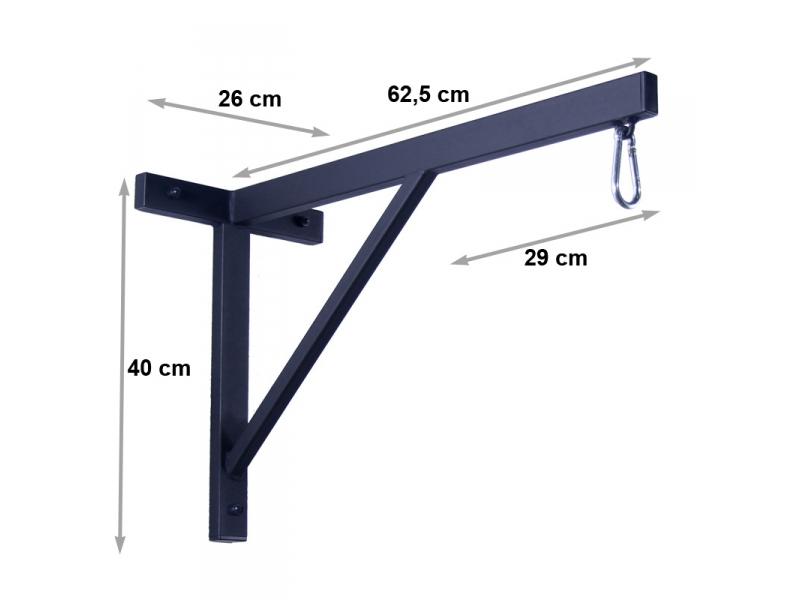 2x boxsackhalterung 80kg boxsackhalter boxen st nder wandhalterung boxsack halte 36 49. Black Bedroom Furniture Sets. Home Design Ideas