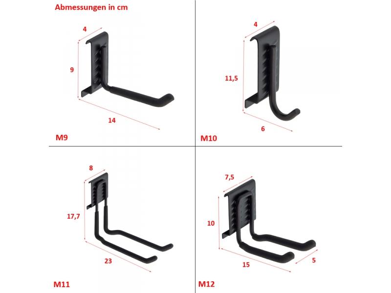 ger tehalter haken wandhalterung wandhaken g nstig kaufen tuning4u offizieller. Black Bedroom Furniture Sets. Home Design Ideas