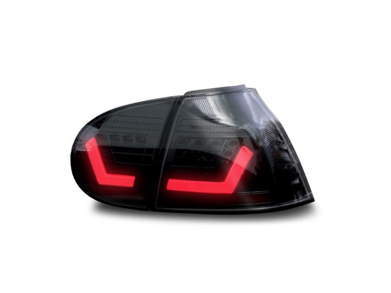 led r ckleuchten vw golf 5 6 variant 03 07 red crystal. Black Bedroom Furniture Sets. Home Design Ideas