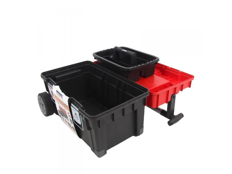 werkzeugkoffer mit rollen werkzeugkiste werkzeugwagen. Black Bedroom Furniture Sets. Home Design Ideas