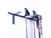 Ski rack for 4pairs of skis rack ski poles Nordic Walking...