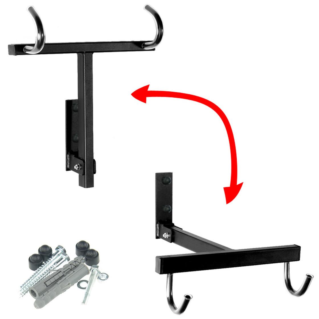 Fahrradhalter mit zubeh r schwarz g nstig online kaufen 14 49 - Wand fahrradhalter ...